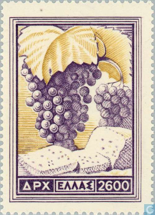 Greece - Agricultural products 1953