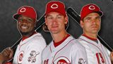 Brandon Phillips, Bronson Arroyo and Joey Votto.  My three favorite Cincinnati Reds together!