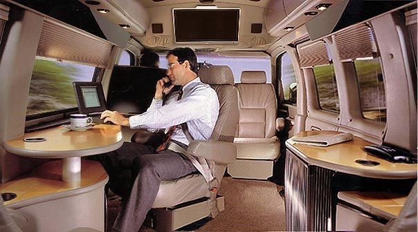 land jet mobile office mercedes sprinter conversion executive mobile office pinterest