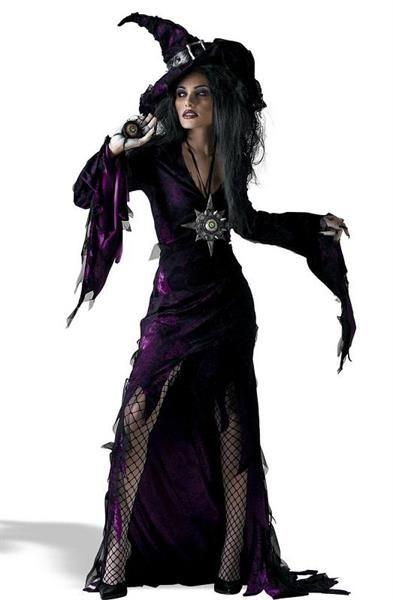 Из чего сделать костюм ведьмы на хеллоуин ребенку