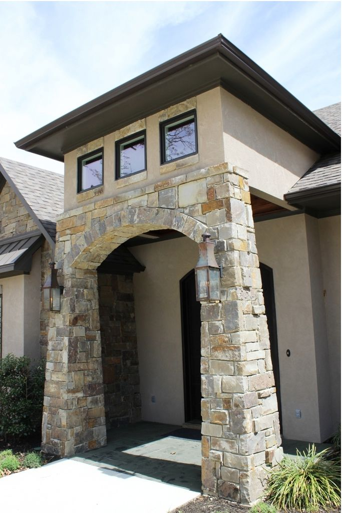 A welcoming entrance to this new custom home in east texas for A e custom homes