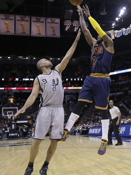 Cavs' Irving steps forward in sublime performance vs. Spurs
