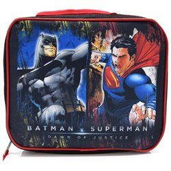 Batman Vs Superman Dawn of Justice Childrens Kids Boys Girls Insulated Lunch Pack School Lunch Box P