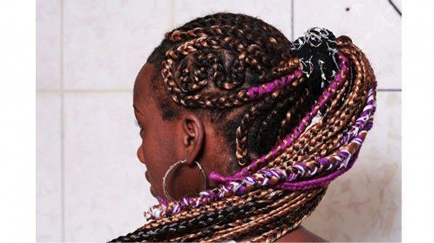 Tranças Afro com lã