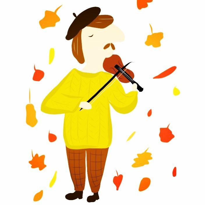 #illustration #music #violin