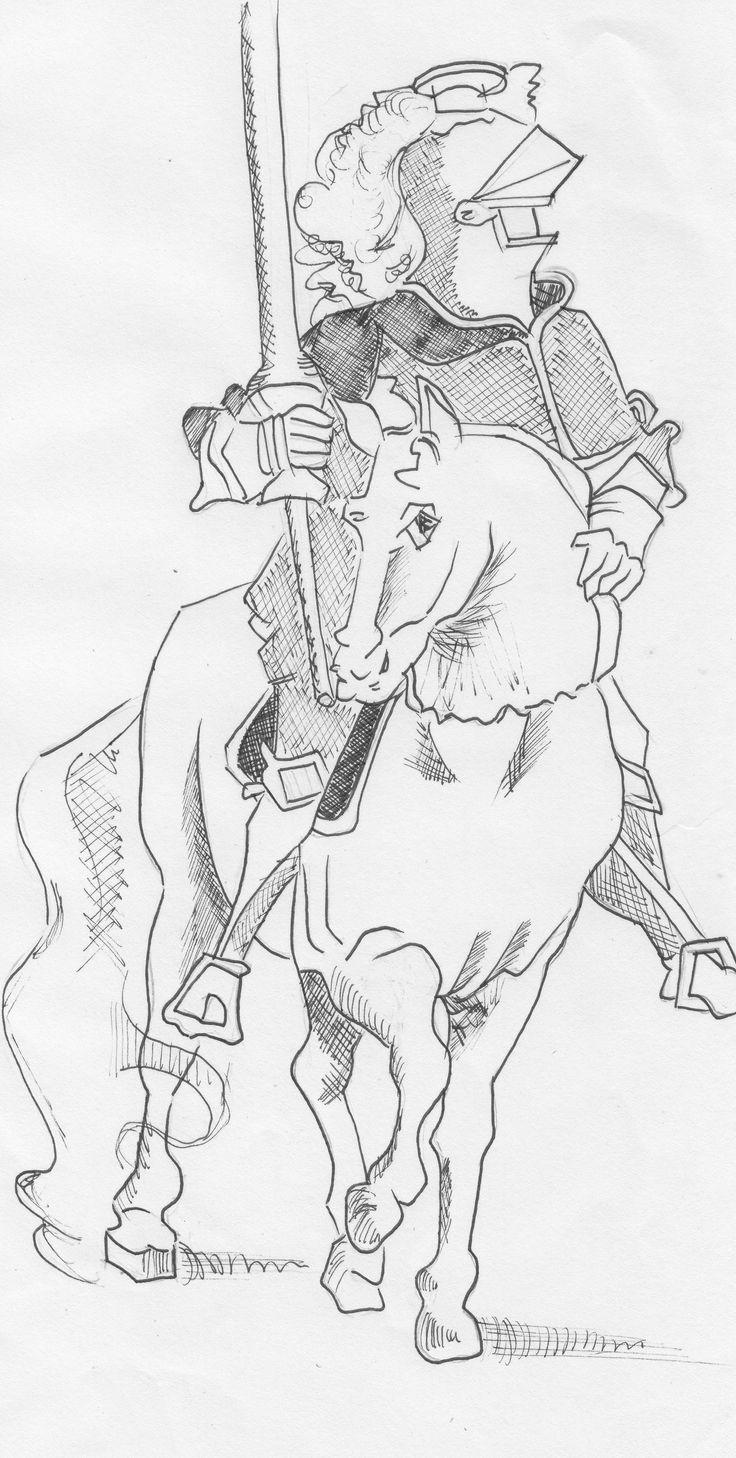 Cavaliere - China su carta