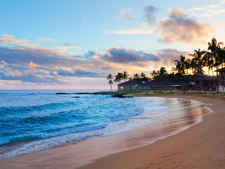 The Hawaiian sunset on Poipu beach is just one of several reasons why guests will enjoy their stay at this resort. And if you're an outdoor enthusiast, we recommend some of the activities nearby including ziplining, moutain tubing, snorkeling, hiking, biking, surfing or playing a round of golf.