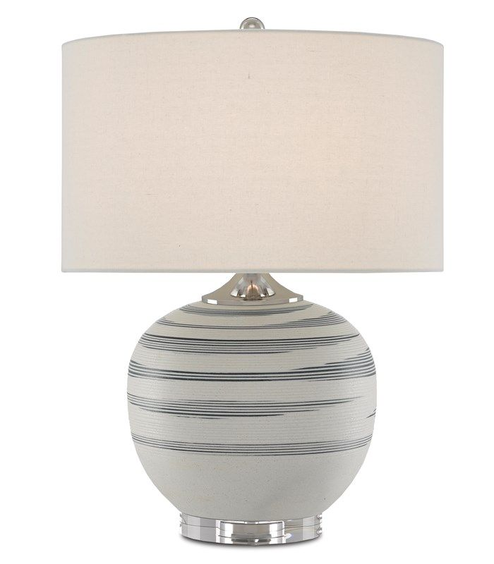 Tazza Table Lamp Currey And Company Lamp White Porcelain White Table Lamp