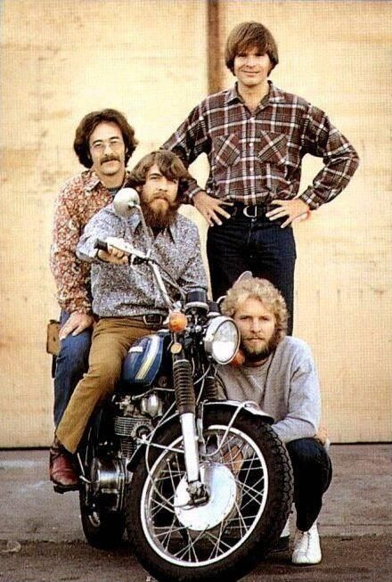 """Wild horses couldn't make me stay away."" Hello Mary Lou - Creedence Clearwater Revival"
