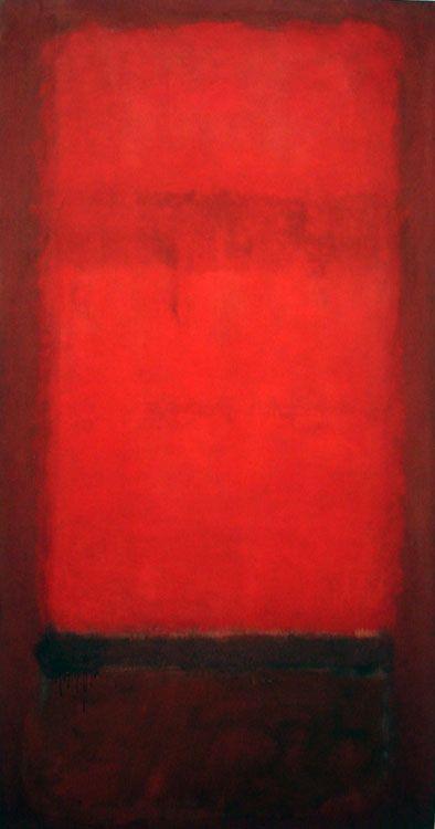 Light red over dark red (Rojo claro sobre rojo oscuro)