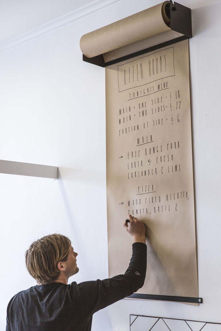 Bloc note mural |MilK decoration
