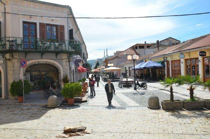 Shkoder, Albania, walking zone