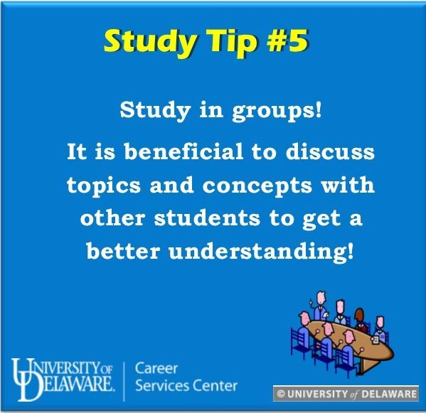 Not understanding a concept? Study in a group! Ask questions to each other and explain topics, concepts and methods! #UDreamItDoIt