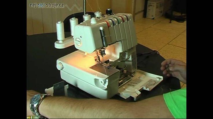 šicí stroj Merrylock 3000 CL overlock i coverlock v jednom, šicí stroje