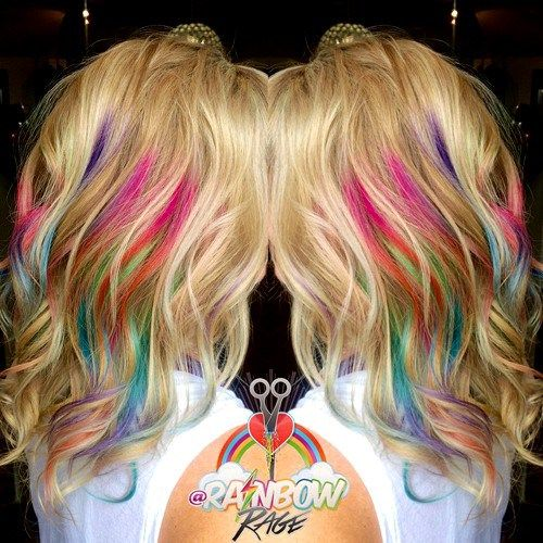 20 Technicolor Looks that Take Rainbow Hair to the Next Level