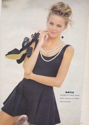 Dolly January 1991 | Alison Brahe | Black Magic 06