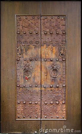 Royalty Free Stock Images: Ancient Chinese Knockers. Image: 40135519