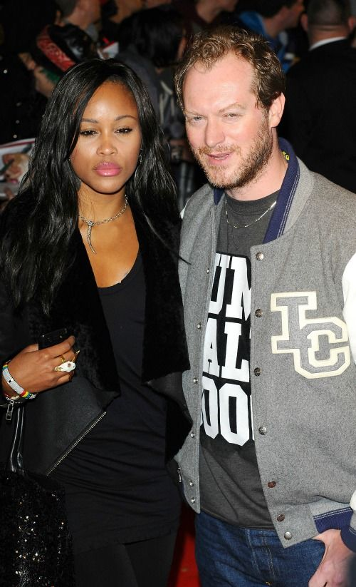 Rapper Eve and Maximillion Cooper UK premiere of 'Jackass 3D' at BFI IMAX London WENN PF