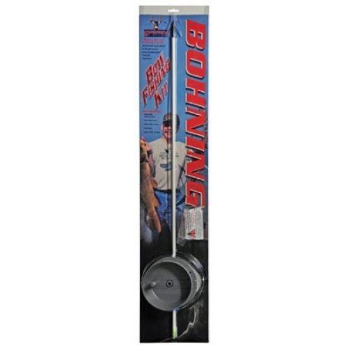 Bohning Bow fishing Kit - Glass Fish Arrow- AMS Safety slide - MUDCAT Reel.