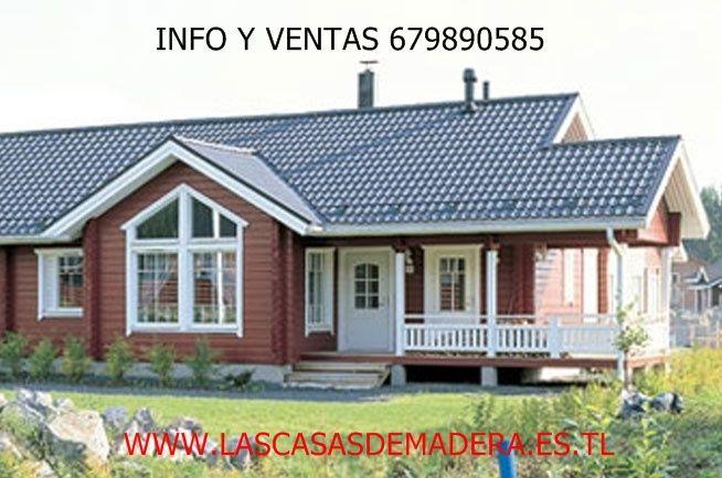 M s de 25 ideas incre bles sobre casas de madera - Casas canadienses en espana ...