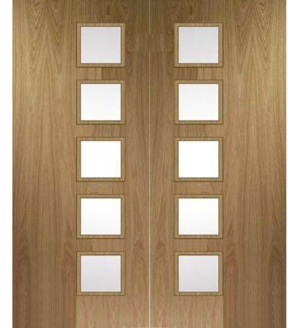 Bespoke Fire #Doors Custom Made Fire Doors To Suit Every #Home #homedecor # & Kershaw Doors \u0026 Huntingdon 10 Light Oak Glazed Internal Door\