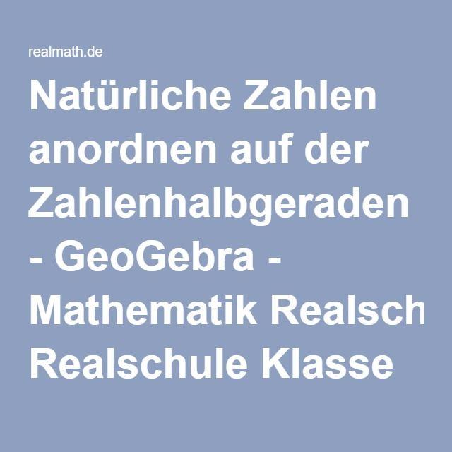 58 besten Mathematik Klasse 5 Bilder auf Pinterest | Grundschulen ...