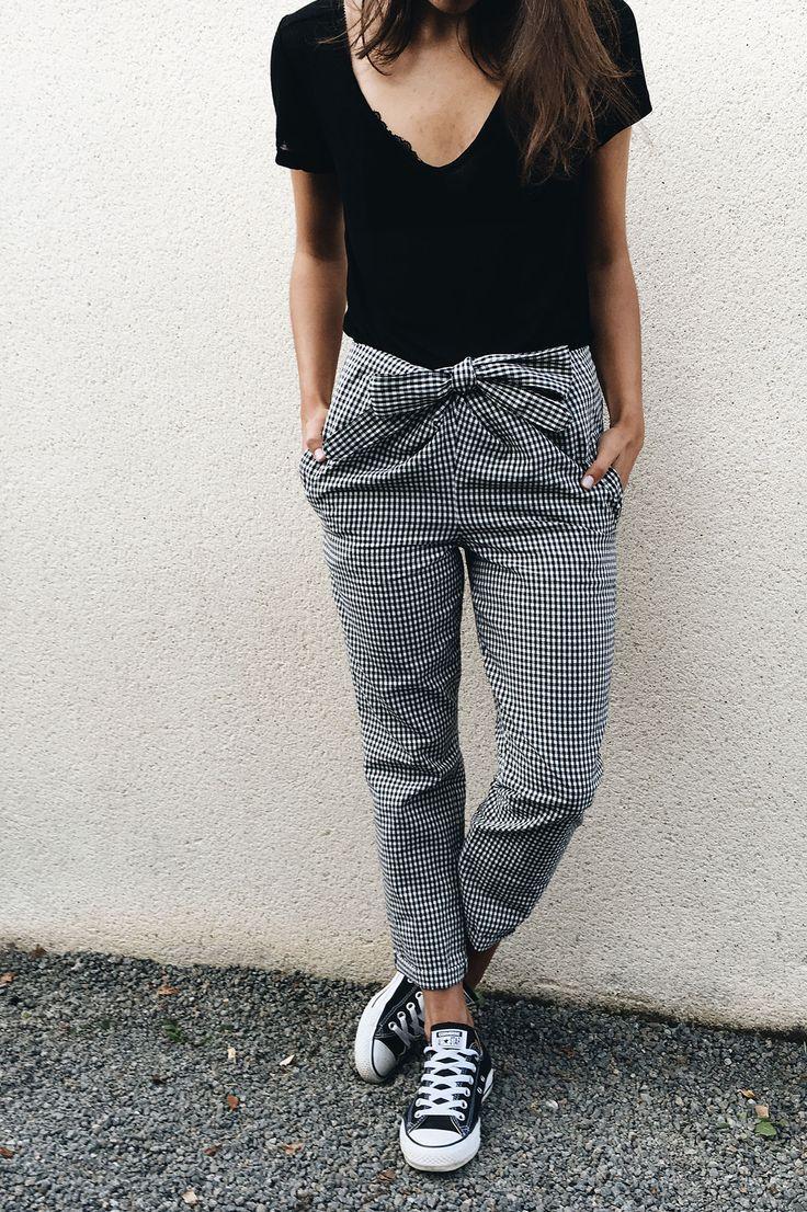 les 25 meilleures id es de la cat gorie patron pantalon femme sur pinterest mod le de. Black Bedroom Furniture Sets. Home Design Ideas