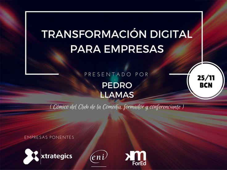 Encuentro sobre Transformación digital en el entorno empresarial