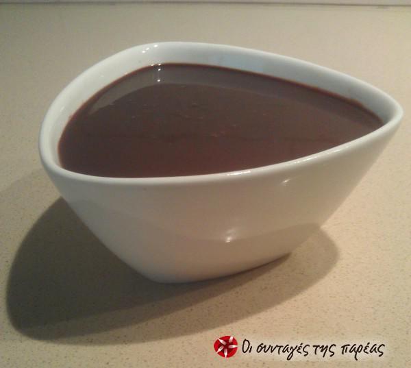 Σως σοκολάτας #sintagespareas #saucesokolatas
