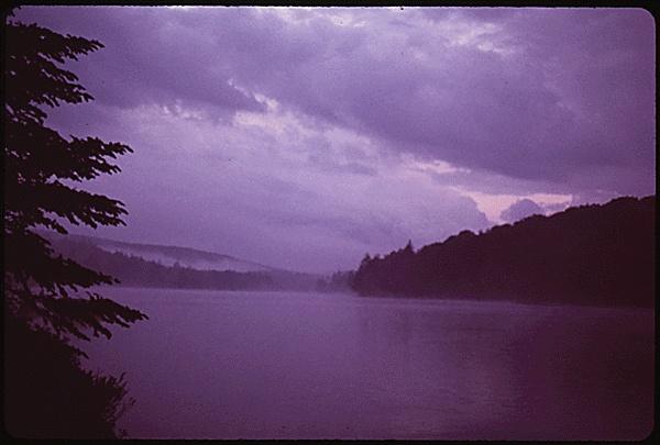 Twitchell Lake, near Big Moose Lake.