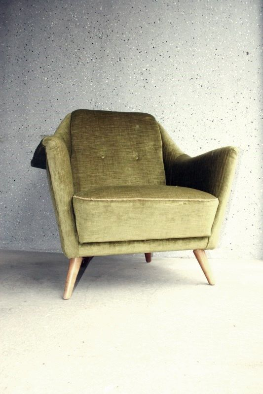 Large Lounge Chair 50s
