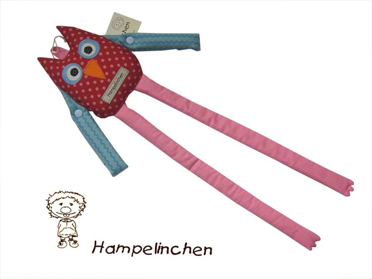 Haarspangenhalter+++Haargummihalter+Eule+von+Hampelinchen+auf+DaWanda.com