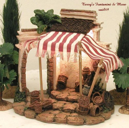 FONTANINI-ITALY-2-5-EARLY-BASKET-SHOP-NATIVITY-VILLAGE-BUILDING-50234-MIB