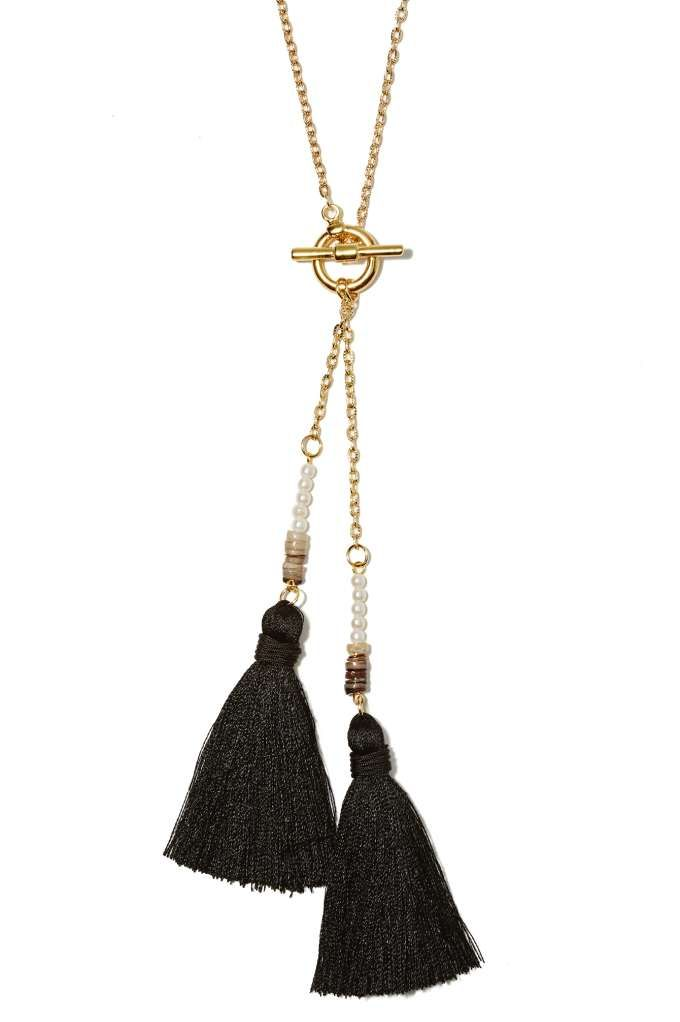 Hold Your Tassels Necklace - Necklaces | Gold | Newly Added |  | Jewelry