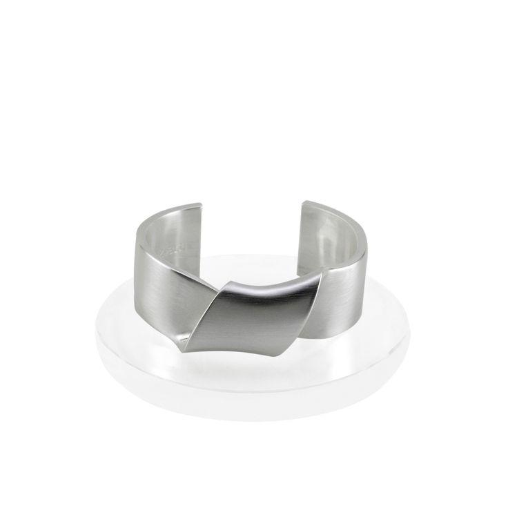 Sayulita Twist Cuff Bracelet - Silver