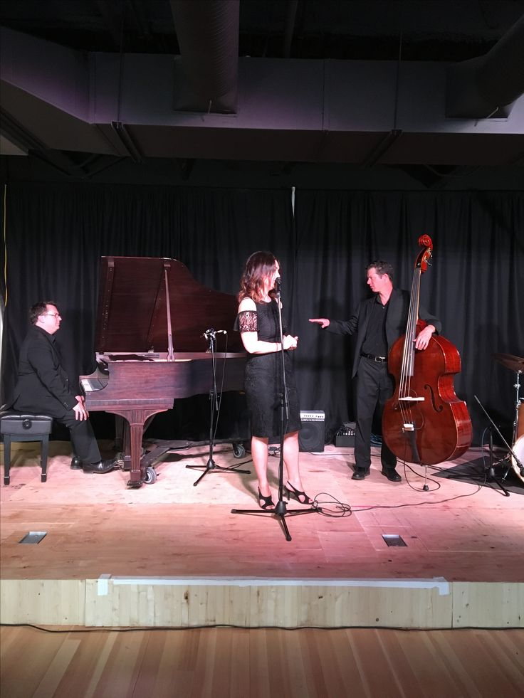 Calgary vocalist Deanne Matley with Jon Day and Jeremy Coates