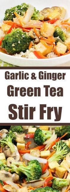 Garlic & Ginger Gree Garlic & Ginger Green Tea Stir Fry...  Garlic & Ginger Gree Garlic & Ginger Green Tea Stir Fry Recipe : http://ift.tt/1hGiZgA And @ItsNutella  http://ift.tt/2v8iUYW
