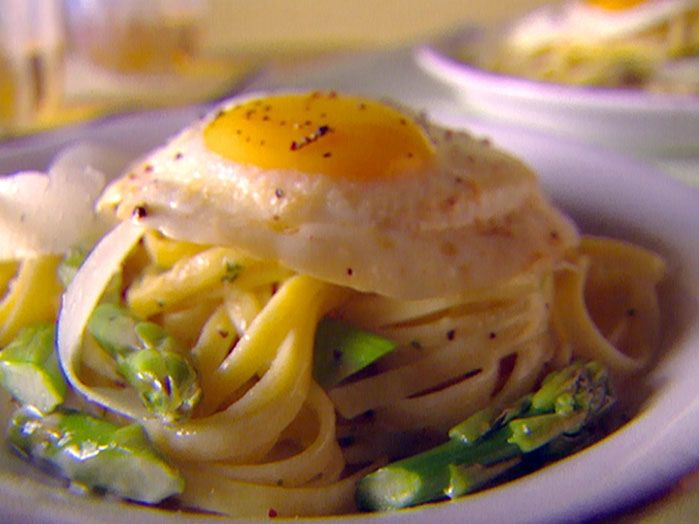 Giada's Classic Carbonara - everything is better with an egg on top