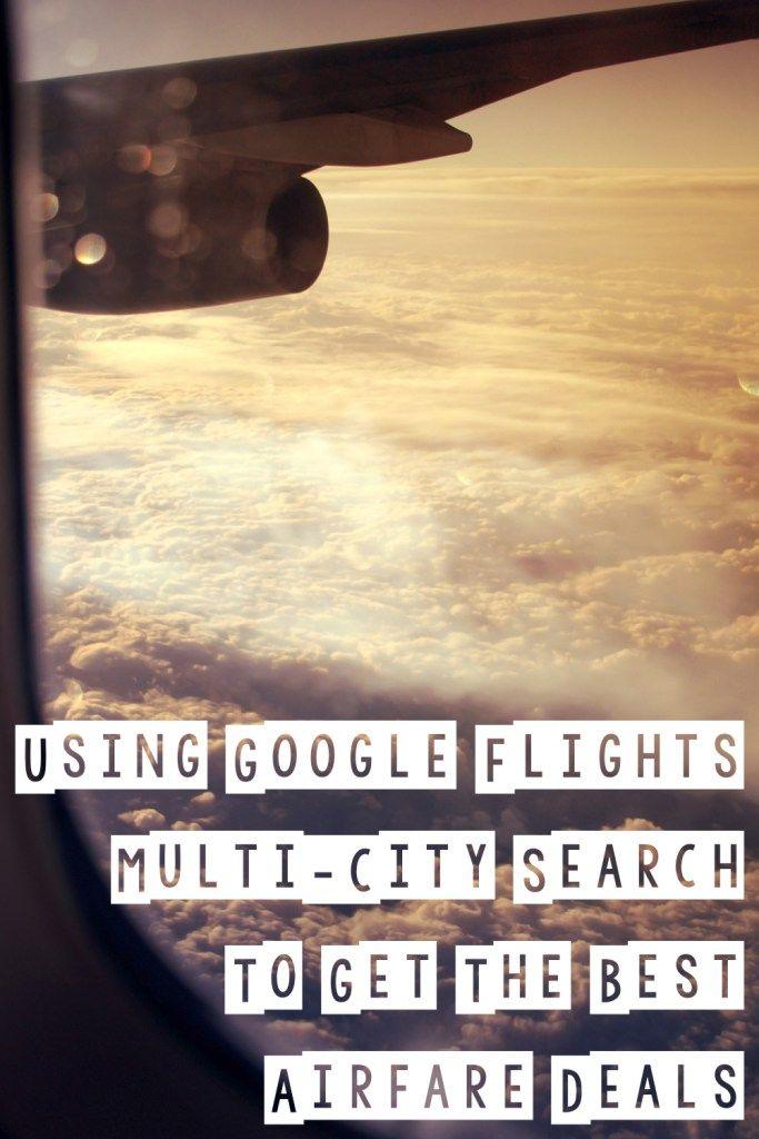 Using Google Flights Multi-City Search to Get the Best Airfare Deals | Sam's Fifth Avenue | http://www.samsfifthavenue.com