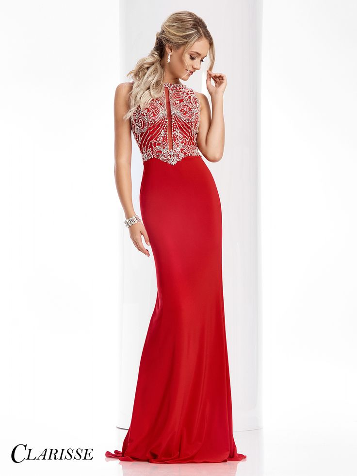 62 best RED PROM DRESSES images on Pinterest | Bridal gowns, Red ...