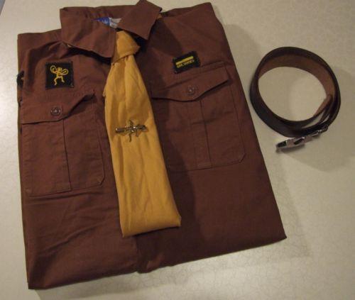 VINTAGE 1950's Brownie Uniform Dress & Badges/Patches: Girl Guide/Girlguiding UK | eBay