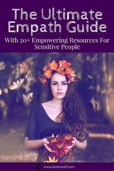 Every sensitive and empathic person needs to learn powerful ways to ground, center, and regain inner strength in the middle of life's chaos. Read + bookmark this precious resource ... via @LonerWolf