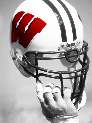 University of Wisconsin - Wisconsin Helmet by Madison / University Communications. Poster from AllPosters.com, $29.99