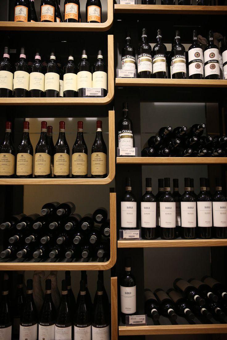 Wine. So much wine.