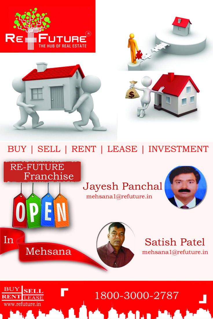 RE-FUTURE : Opened Franchise Office in Mehsana , North Gujarat.
