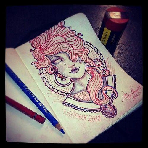 Jean Le Roux- workin on somethin to paint. *FOLLOW*  (Taken with Instagram)