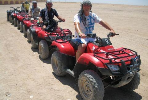 EMO TOURS EGYPT Adventure Luxor desert trip by Quad Bike