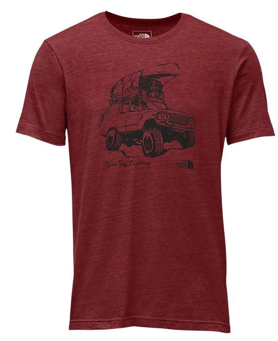 The North Face Short Sleeve Offroad Tri-Blend Tee