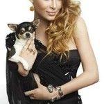 Belinda Peregrín y su perrito , Glamour Magazine, Photoshoot 2012