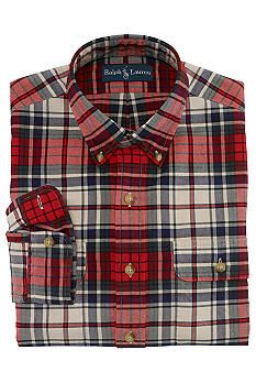 Polo Ralph Lauren Plaid Twill Workshirt #Belk #Men